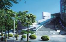 深圳文化中心室外园林景观工程-音乐厅
