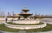 咸阳奥特莱斯景观工程-喷泉