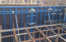 鋼框木模體系