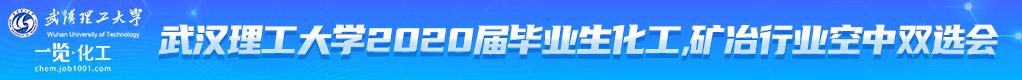 武汉理工大学2020届化工、矿冶行业空中双选会招聘信息