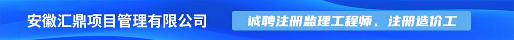 安徽汇鼎项目管理有限公司招聘信息