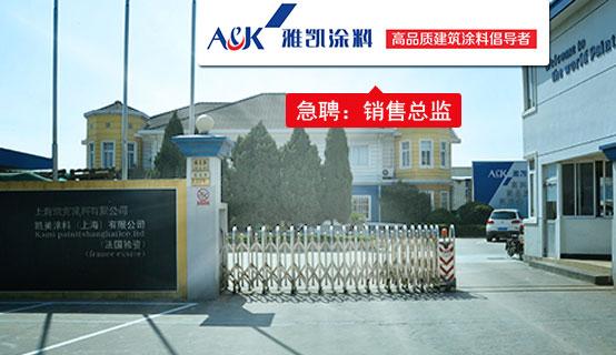 上海凯克涂料有限公司
