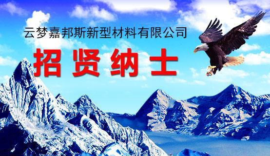 云梦嘉邦斯新型材料有限公司招聘信息