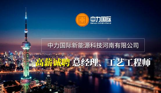 中力国际新能源科技河南有限公司