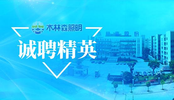 江西省木林森光电科技有限公司招聘信息