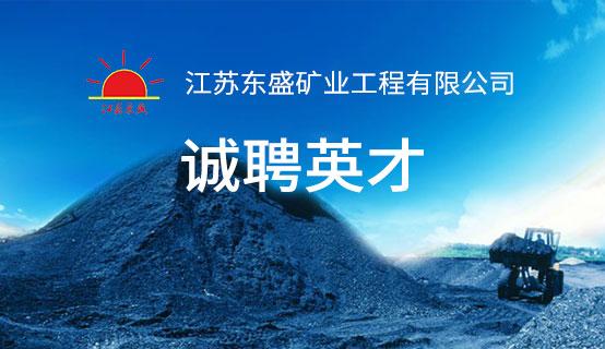 江苏东盛矿业赌博网站注册送体验金有限公司
