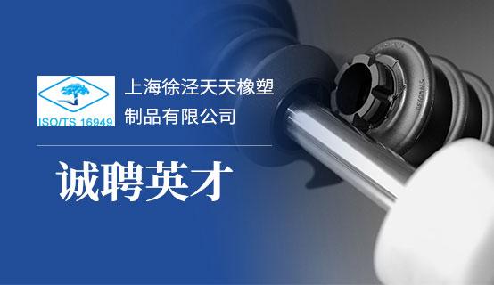 上海徐泾天天橡塑制品有限公司招聘信息