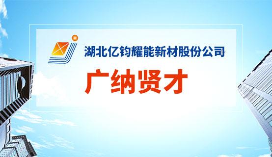 湖北亿钧耀能新材股份公司��Ƹ��Ϣ