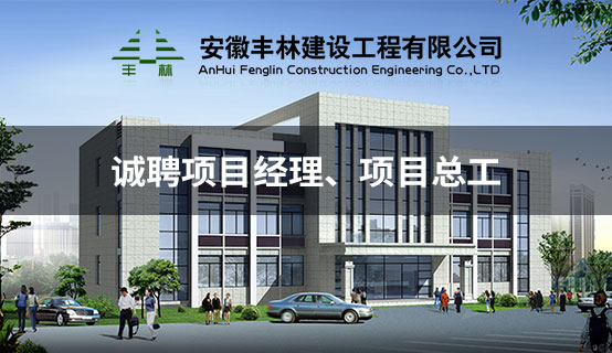 安徽丰林建设工程有限公司招聘信息