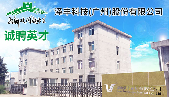 泽丰科技(广州)股份有限公司招聘信息