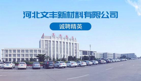 河北文丰新材料有限公司招聘信息