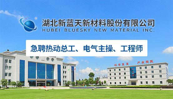 湖北新蓝天新材料股份有限公司招聘信息