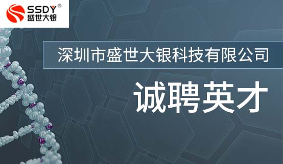 深圳市盛世大银科技有限公司招聘信息