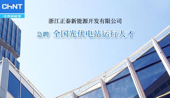 浙江正泰新能源开发好吊看视频公司招聘信息