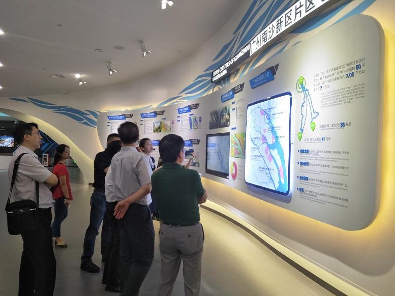 中国人力资源界知名专家赴南沙考察调研